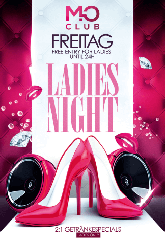 Freitags Ladies Night im Mo Club Augsburg.